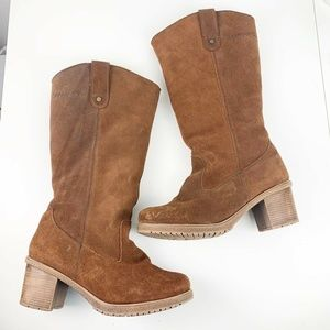 Bearpaw Addison Fur Shearling Lined Boots